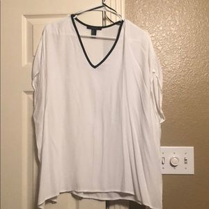 Beautiful Forever 21 white shirt